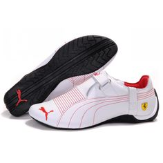 dd368d29bc2673 PUMA Puma Ferrari Trionfo Shoes Puma Ferrari Trionfo Shoes White R.