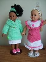 "Inspiration to Wear -18"" doll image intense - Free Original Patterns - Crochetville"