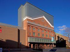 Lyric Opera House Richmond, VA preweathered zinc reveal panels