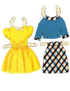 MaryLou, a Darling Paper Doll with Hair, 1958 Saalfield (7 of 12) | Linda | Picasa Webalbum