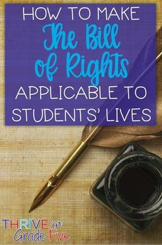 38 Best Bill of Rights images in 2018 | Teaching social