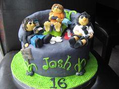 boy 16th birthday cake ideas - Google Search                              …