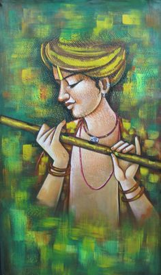 Murari - X Colors,Shyam,Krishna,Basari,Kanha - Buy Paintings online in India Oil Pastel Paintings, Oil Pastel Drawings, Indian Art Paintings, Modern Art Paintings, Fantasy Paintings, Art Drawings, Pastel Art, Buy Paintings Online, Online Painting