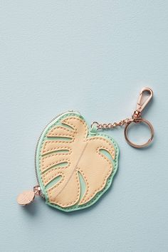 Shop the Palm Leaf Keychain Pouch and more Anthropologie at Anthropologie today. Read customer reviews, discover product details and more.