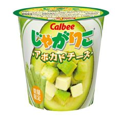 カルビー : じゃがりこ アボカドチーズ Calbee: Jagariko Avocado Cheese