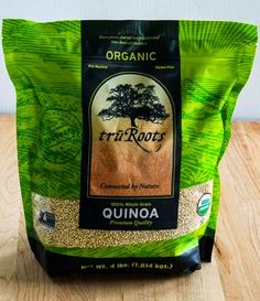 Kalyn's Kitchen Picks: Tru Roots Organic Quinoa from Costco (and 25 Healthy Recipes Using Quinoa). If you haven't quite warmed up to using quinoa yet, this post has a lot of great ideas for using it. [from Kalyn's Kitchen] #QuinoaRecipes #HealthyRecipes