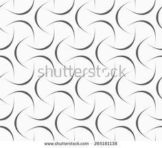 Seamless geometric pattern. Gray abstract geometrical design. Flat monochrome design.Monochrome abstract linear tetrapods.