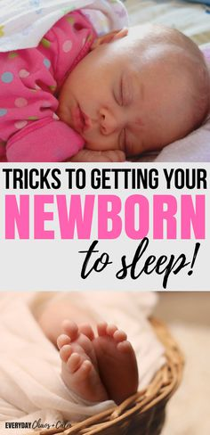 Parenting Tips:  Are you at the end of your rope with sleep deprivation? Get tips on how to get your newborn baby to sleep from a mom of 6