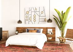 7 Mid-Century Modern Bedroom Ideas to Try in Your Space Love the Mid-Century Modern look but not sure how to bring it to life? Check out our favorite Mid-Century Modern bedroom ideas! Modern Bedroom Furniture, Bedroom Decor, Modern Bedroom Design, Stylish Bedroom, Minimalist Bedroom, Mid Century Modern Interiors, Modern Bedroom, Stylish Bedroom Design, Mid Century Modern Bedroom