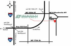 Map and Directions - Your Family Architect - Architects Northwest
