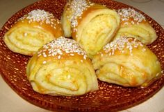 No Salt Recipes, Baking Recipes, Butter Roll Recipe, Croation Recipes, Georgian Food, Salty Snacks, Hungarian Recipes, Bread And Pastries, Salted Butter