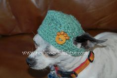 Summer Dog Hat  Custom made for your dog 215 by poshpoochdesigns, $12.99