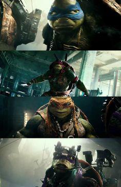 Teenage Mutant Ninja Turtles (2014)the new moive!!
