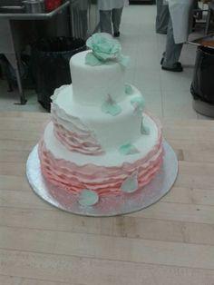 My very first wedding showpiece creation