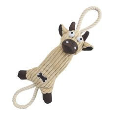 Pet Life Jute And Rope Plush Cow - Pet Toy- Brown - Our Pet Life Jute And Rope Plush Pig - Pet Toy- Pink Eco-Friendly Jute and Rope dog toys are composed of Recyclable Jute materials that is used to further strengthen your dogs teeth while they chew on these toys. A great way for you and Fido to show the environment how much you care!