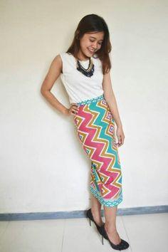 Aditi Multicolour  Rp 119.000 Line eleradesign  #span #rok #batik #rangrang…