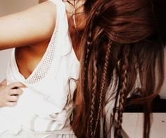 Loving little braids...