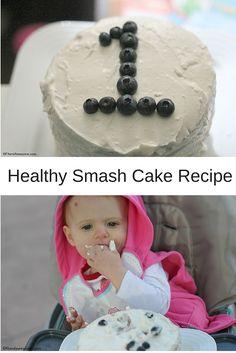 Baby Awesomes 1st Bday Healthy Smash Cake Recipe Smash cake