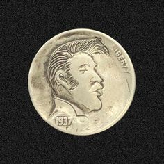 Hobo Nickel, Coins, Carving, Personalized Items, Rooms, Wood Carvings, Sculptures, Printmaking, Wood Carving