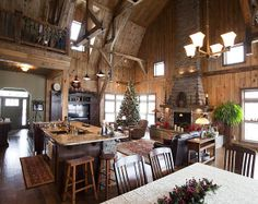 Wood & Horse Barn Homes Media Gallery | Featured Projects, Photos & Videos | SandCreek Post & Beam - My DREAM home!