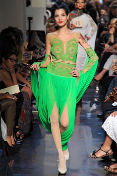 Jean Paul Gaultier Spring 2012 | Paris Fashion Week