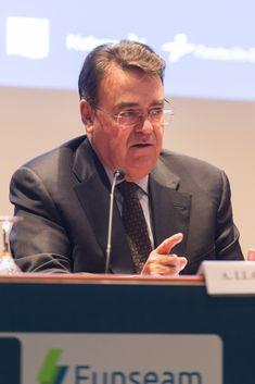 Bienvenida: D. Antonio Llardén, Presidente de FUNSEAM y Enagás Vii