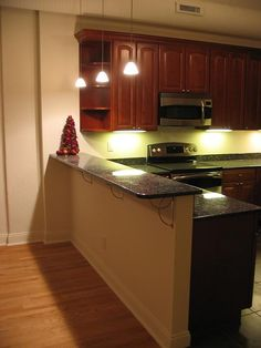 Attractive Granite Bar