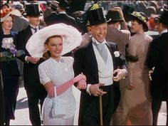 Easter Parade with Judy Garland and Fred Astaire (1948)--love this movie & the music!