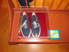 Mister Rogers' Shoes. Pittsburgh Children's Museum.