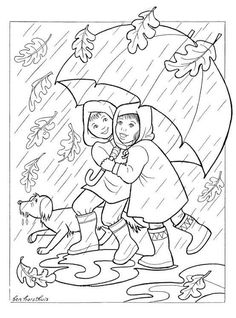 Fall Leaves Coloring Pages, Apple Coloring Pages, School Coloring Pages, Coloring Pages To Print, Free Printable Coloring Pages, Coloring Pages For Kids, Coloring Books, Autumn Leaf Color, Autumn Art