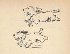 * Sealyham Terrier 2 - 1937 Lucy Dawson Vintage Dog Print