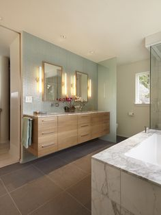 Modern Bathroom Kids Bathroom Design, Pictures, Remodel, Decor and Ideas - page 14