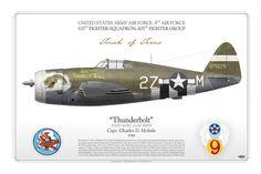 P-47D Captain Charles D. Mohrle