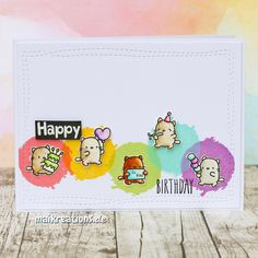 My blog shows various kinds of cards (birthday, baby, greeting cards, ...), scrapbooking layouts, mini albums and projects for a beautiful home.