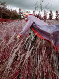 Red for sickymag.com Photography Nadya Filatova Fashion
