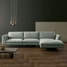 Tokyo Sofa in the Set 14 corner composition exudes chic modern style; available in 100's of fabrics or leathers and in other corner or sofa sizes.