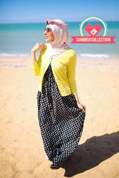 maxi dress with cardigan.,Eid hijab clothing by prude store http://www.justtrendygirls.com/eid-hijab-clothing-by-prude-store/,