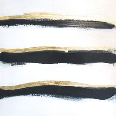 ART Original Abstract Painting Mod Undercurrent by GildedMint I Etsy