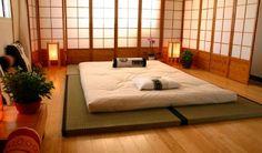 9 Creative And Inexpensive Diy Ideas: Futon Tatami Home futon dorm mattress. Bedroom Wood Floor, Home Bedroom, Bedroom Decor, Bedroom Lighting, Futon Bedroom, Bedroom Ideas, Bedroom Flooring, Night Bedroom, Bedroom Designs