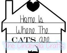 paper cut cats - Google Search