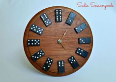 Repurposed Domino Clock