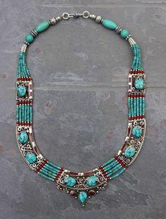 Dharmashop.com - Tibetan Clarity Necklace, $179.00 (http://www.dharmashop.com/tibetan-clarity-necklace/)