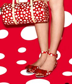 Shoe Daydreams: Picking Polka-Dots - Louis Vuitton & Yayoi Kusama Collection