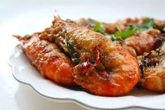 Seasaltwithfood: Prawn In Tamarind And Plum Sauce Indian Food Recipes, Asian Recipes, Ethnic Recipes, Cantonese Food, Plum Sauce, Restaurant Dishes, Asian Soup, Fish Sauce