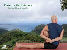 Parivrtta Marichiasana. Postura del sabio Marichi