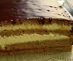 Kávés Malakov-torta Recept képpel - Mindmegette.hu - Receptek Hungarian Recipes, Cake Cookies, No Bake Cake, Vanilla Cake, Cheesecake, Food And Drink, Menu, Yummy Food, Favorite Recipes