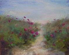 'A Nantucket Bouquet'  8x10 pastel  Karen Margulis