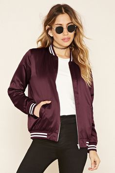 Mini: Trend: Bomber Jackets // Lady Gray  Forever 21 $25