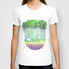 Deer Path T-shirt by Ricardo Moody - $18.00