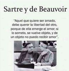 Sartre y de Beauvoir